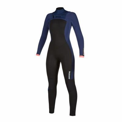 Foto van Mystic dames wetsuit Dazzled freezip 5/3