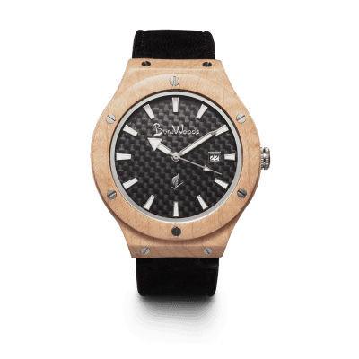 Burnwoods horloge Hades Maple
