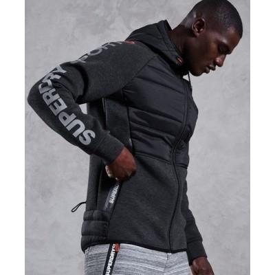 Superdry heren sweater Stretch Hybrid