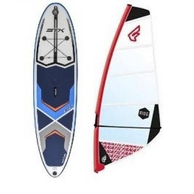 Foto van STX Opblaasbare Windsurfboard compleet met Tuigage