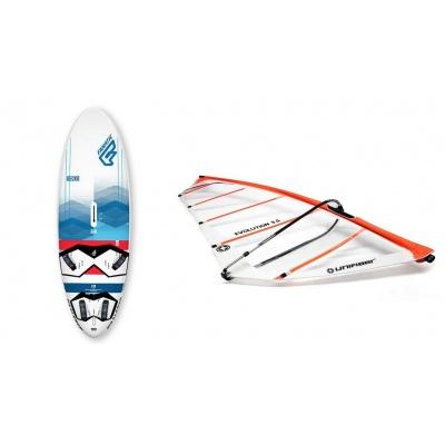 Fanatic Gecko HRS 2018 + Evolution windsurftuigage