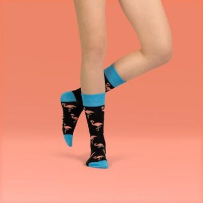 Unabux sokken Flamingo