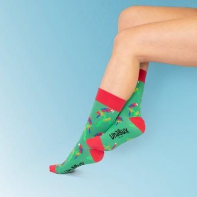 Foto van Unabux sokken Papegaai