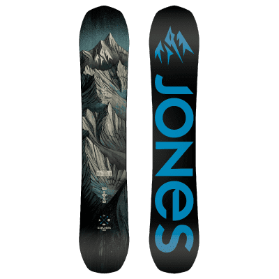 Foto van Jones Explorer snowboard 2019