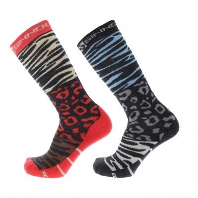 Sinner dames ski sokken Animal