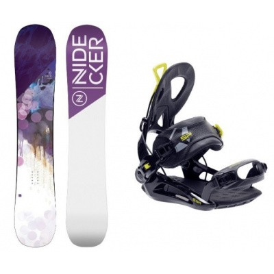 Foto van Complete Snowboard set Nidecker Angel+SP Private