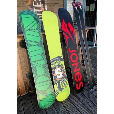 Foto van Waxen Slijpen Snowboard en Ski's