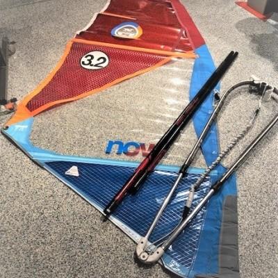 North Sails Junior windsurftuigage NOW 3.2 gebruikt