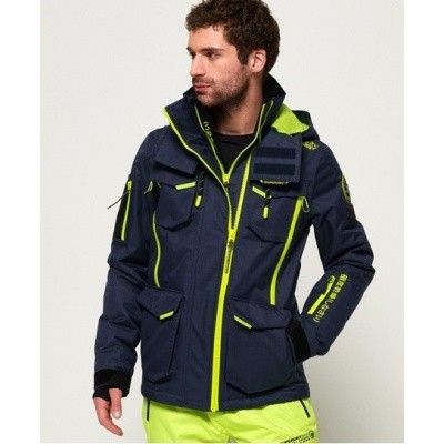 Foto van Superdry heren Action Snowjacket