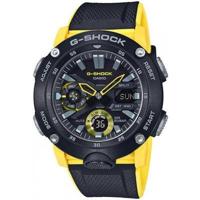 Foto van G-Shock Horloge GA-2000-1A9ER geel