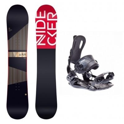 Foto van Complete snowboardset Play+SP FT270 bindingen