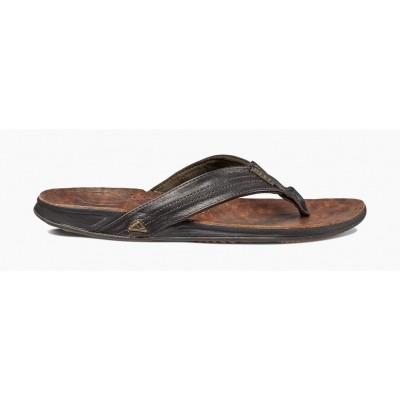Reef heren leren slipper J-Bay lll