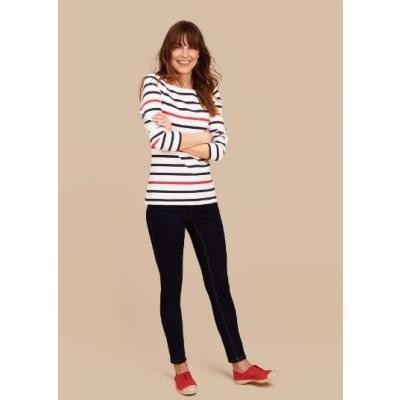 Foto van Joules dames bretone stripe shirt