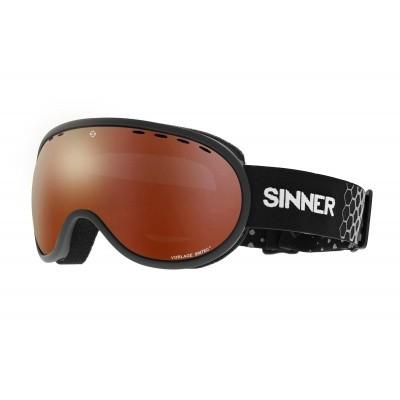 Sinner wintersportbril matt zwart