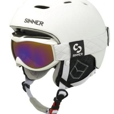 Foto van Sinner combi pack helm+goggle