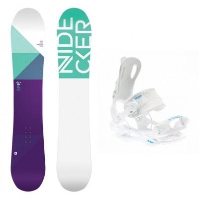 Foto van Complete snowboardset Elle+SP FT270 bindingen