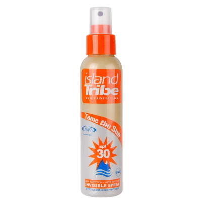 Foto van ​Island Tribe SPF 30 clear gel spray