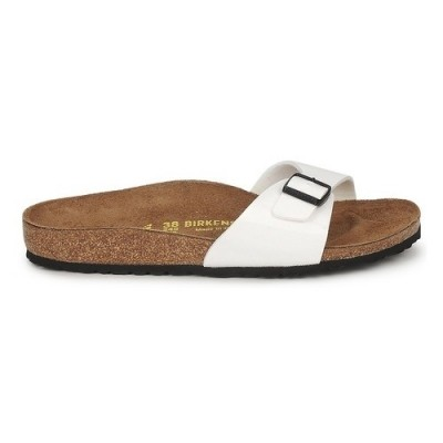 Birkenstock dames slipper Madrid wit