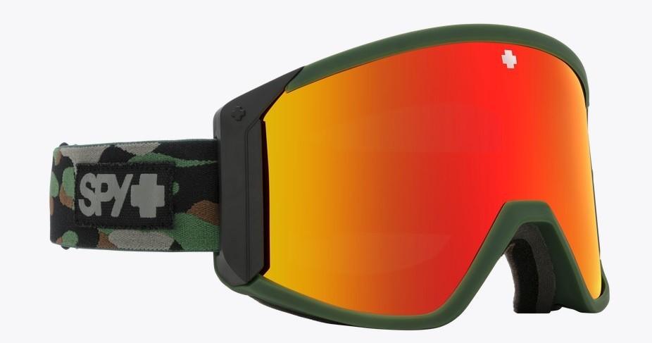 Spy Snow Goggle Raider Camo