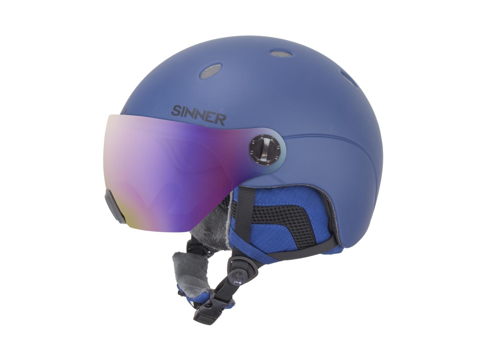 Sinner ski snowboardhelm Titan met Vizier