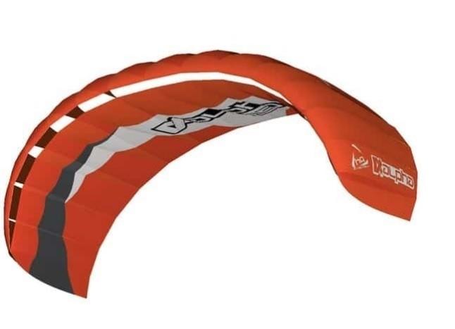 HQ 4 lijns trainer kite Alpha