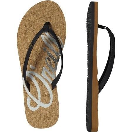 O'Neill dames Logo slipper kurk