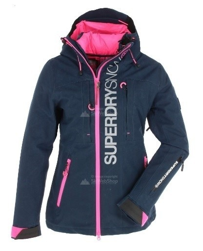 Superdry dames wintersport jas Multi Jacket