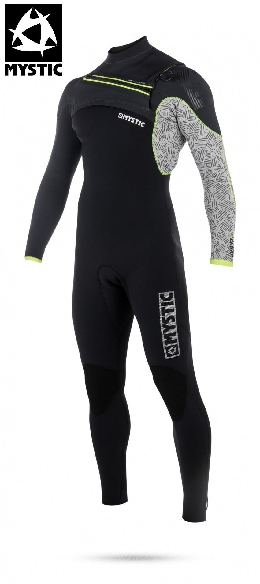 Mystic wetsuit Drip front-zip 4/3