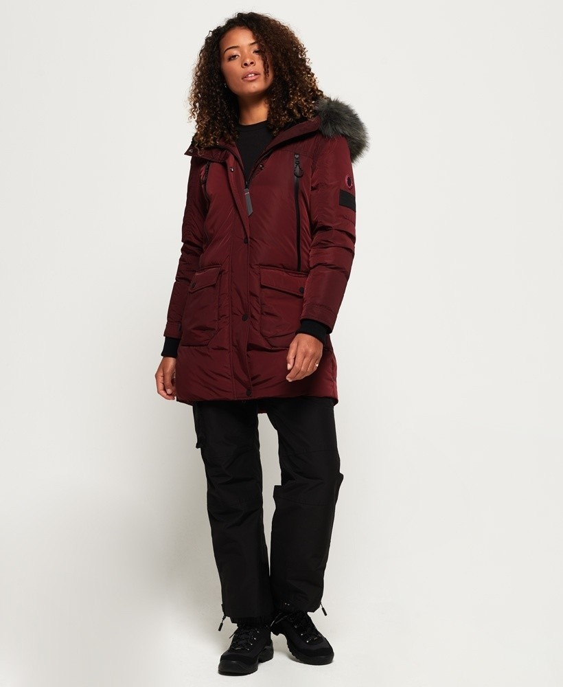 Superdry Antarctic Explorer Down parka jas