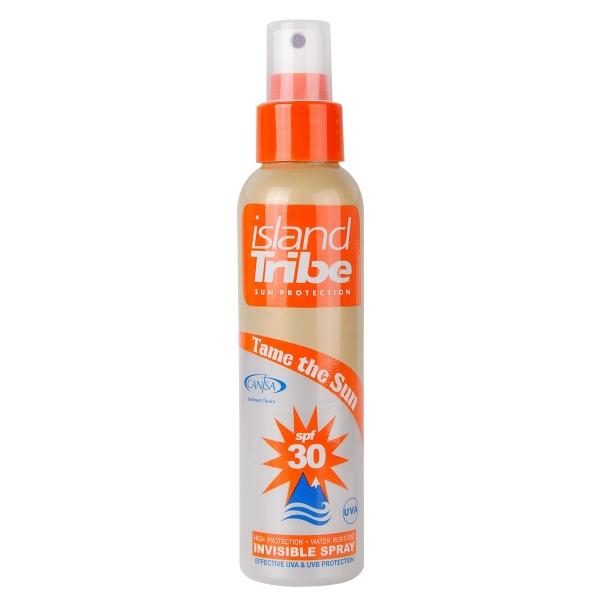 Island Tribe SPF 30 clear gel spray