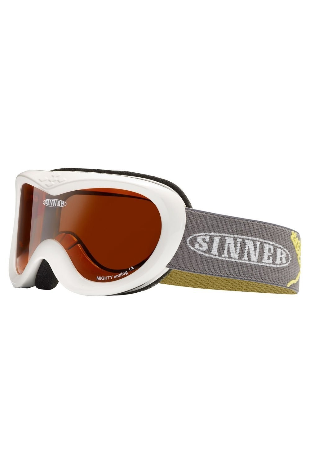 ​Sinner kinder goggle Mighty shinny white