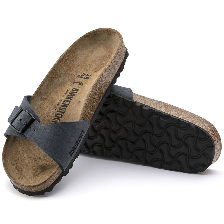 Birkenstock dames slipper Madrid navy