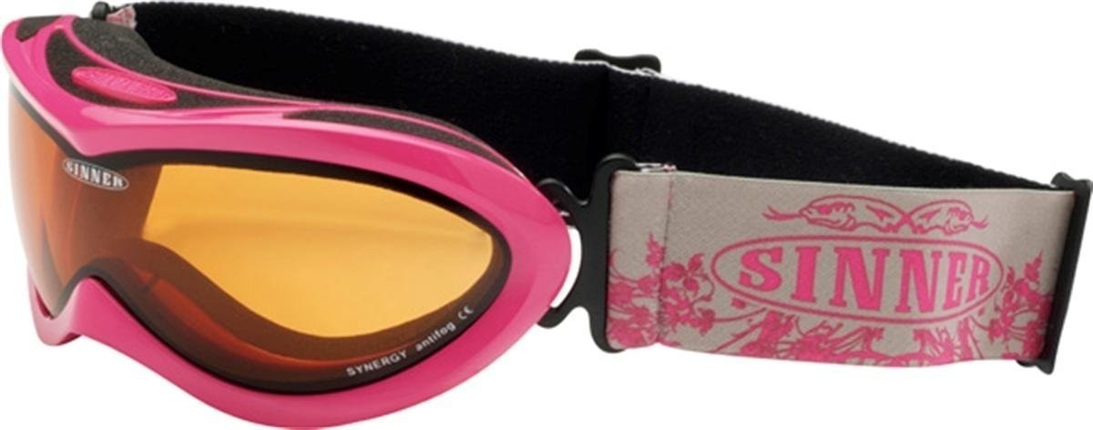 Sinner kinder goggle Mighty shinny pink.