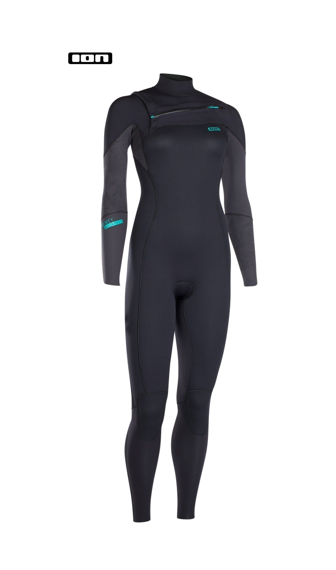 Ion dames wetsuit Trinity free zip 4 mm.