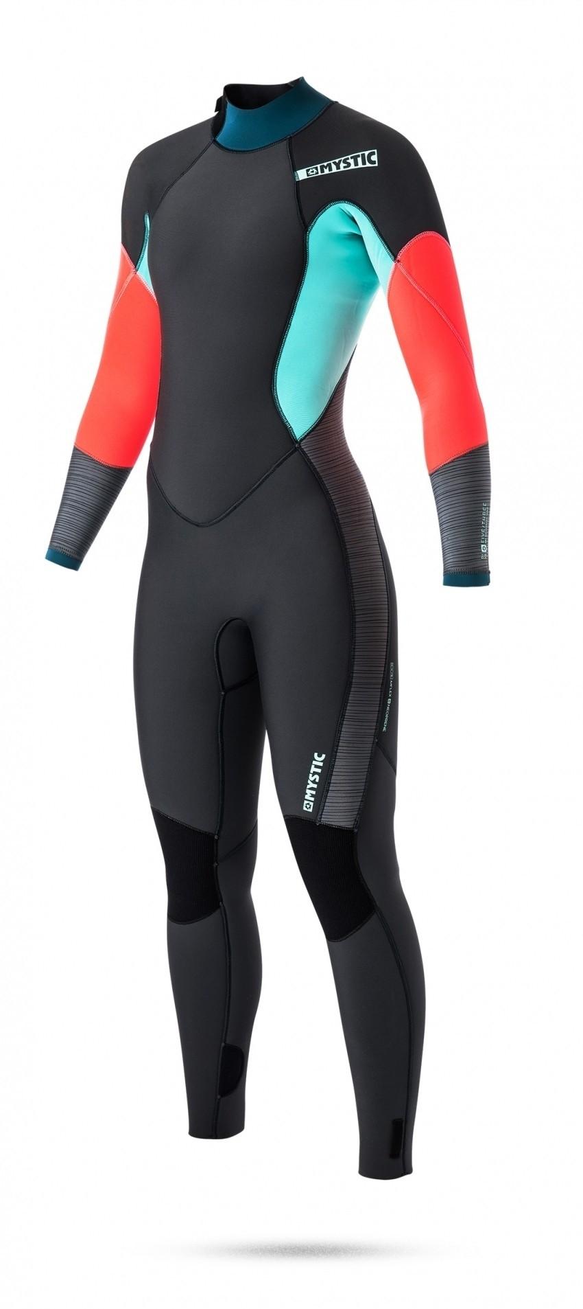 Mystic dames wetsuit Diva 5/3 2017