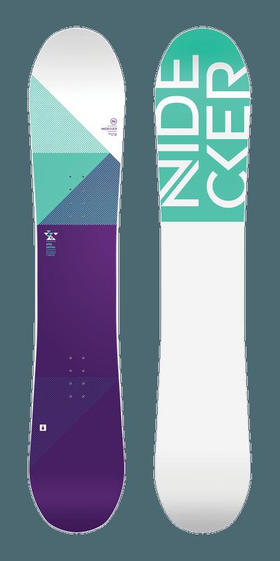 Nidecker dames snowboard Elle 2018