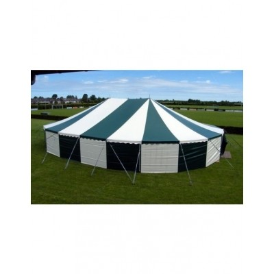 Partytent 12 x 17 m ovaal