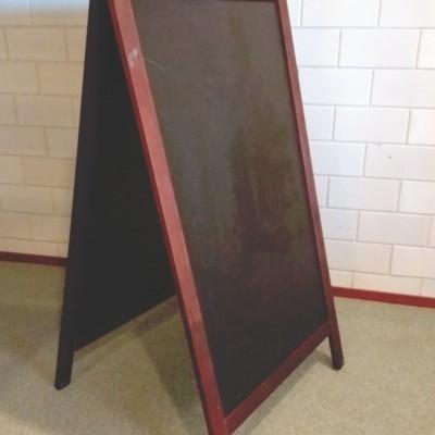 Krijt-stoepbord