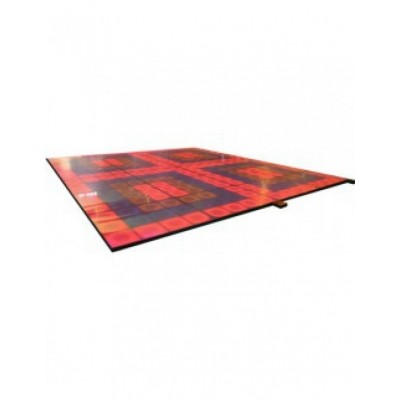 Verlichte dansvloer 360 x 320 x 6 cm