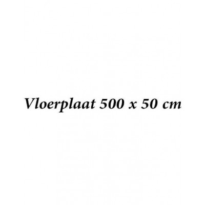 Vloerplaat 500 x 50 cm