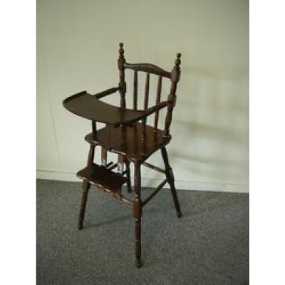 Foto van Kinderstoel hout