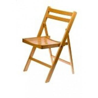 Foto van Houten klapstoel stoel