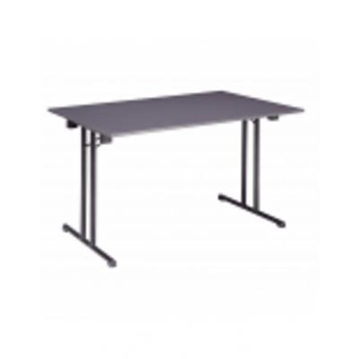 Foto van Klaptafels tafel 120 x 80 cm antraciet