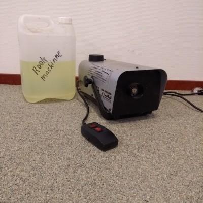 Foto van Rookmachine, klein formaat, excl. rookvloeistof