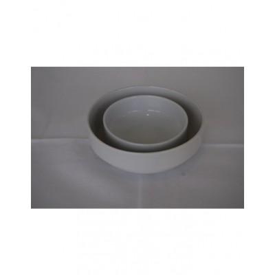 Foto van Aardappelschaal 20 cm wit porselein