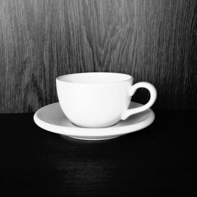 Foto van cappuccino kop
