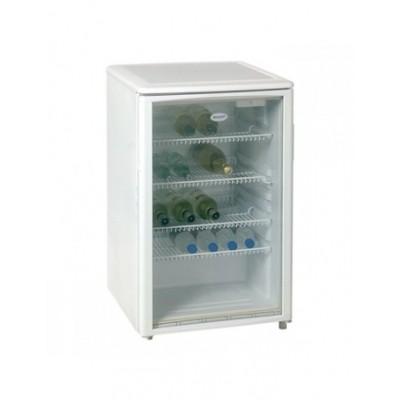 Foto van Koelkast tafelmodel met glazen deuren 125 L