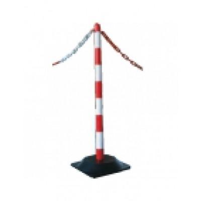 Foto van Ketting voor afzetpaaltjes rood/wit per meter