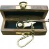 Afbeelding van Bootsmansfluit sleutelhanger in houten kistje