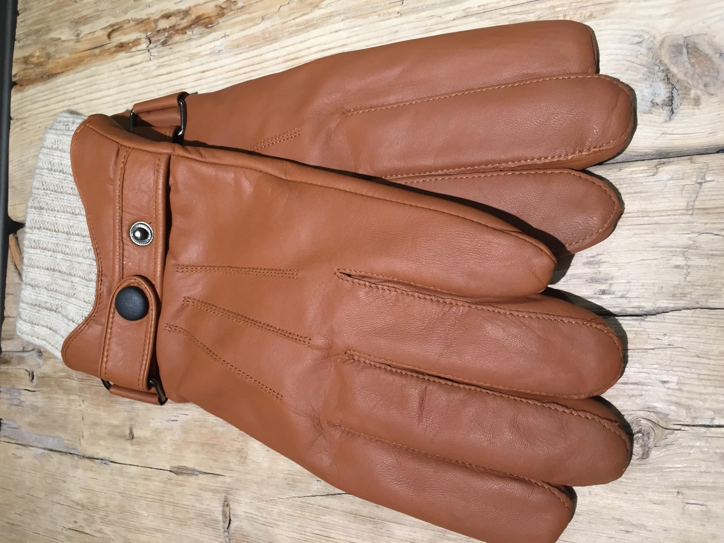 Foto van Hatland Tygo leren handschoen